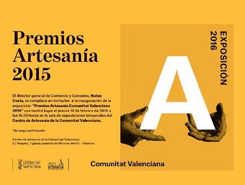 Premios Artesania 2015